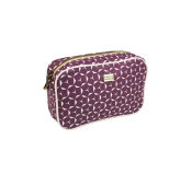 Pipols Bazaar cosmetic bag ethno diamond medium purple 10150 necessär sminkväska lila